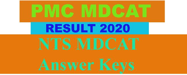 Pakistan Medical Commission MDCAT 2020 Result