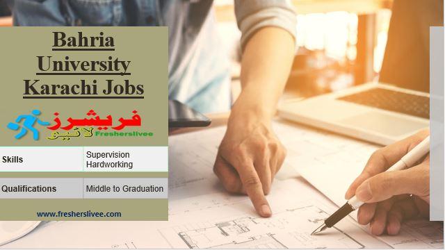 Bahria University Karachi Jobs