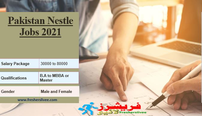 Pakistan Nestle Jobs