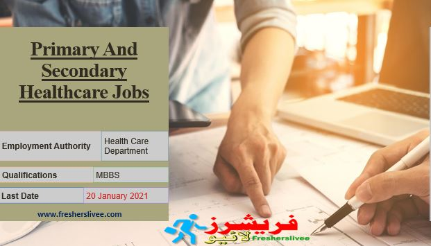 Primary And Secondary Healthcare Jobs