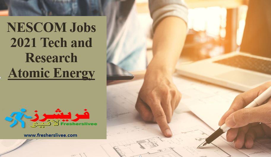 NESCOM Jobs 2021 Tech and Research