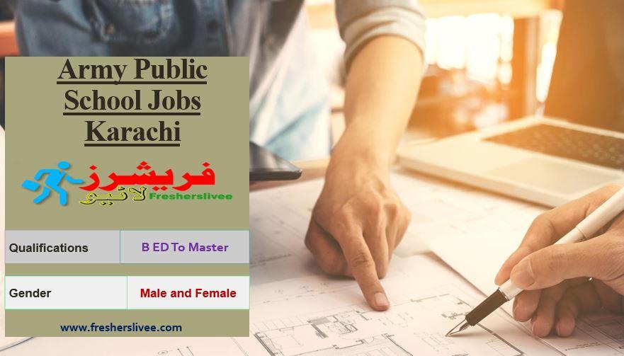 Army Public School Jobs Karachi