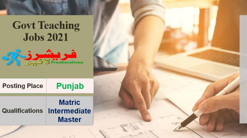 Govt Teaching Jobs