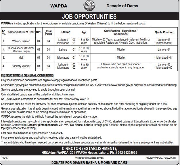 Wapda-Jobs-2021