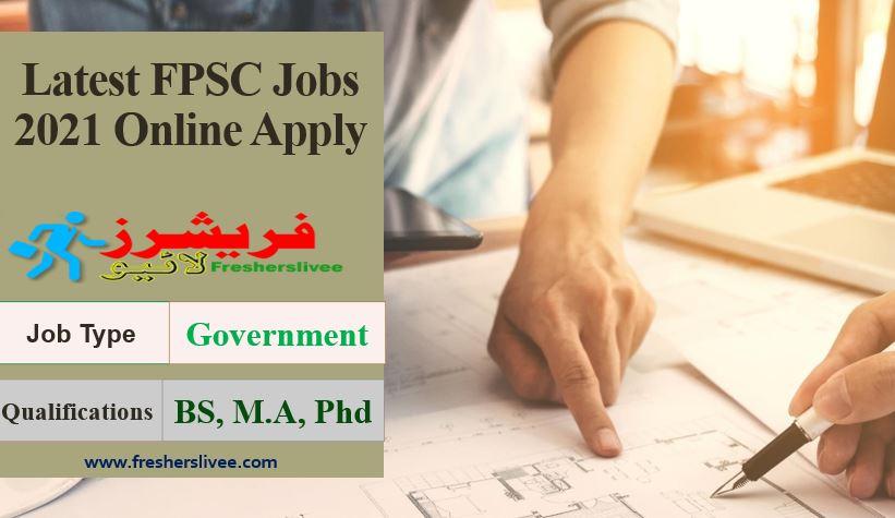 FPSC Jobs 2021