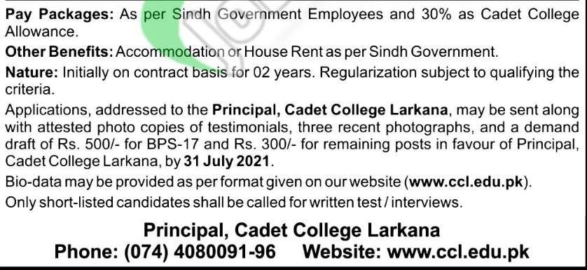 Jobs In Sindh