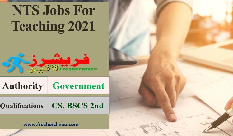 NTS Jobs 2021