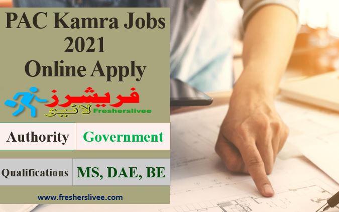 PAC Kamra Jobs 2021