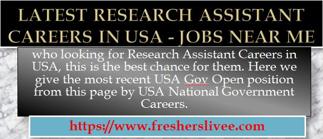 Research Assistant Careers