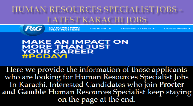 Human Resources Specialist Jobs