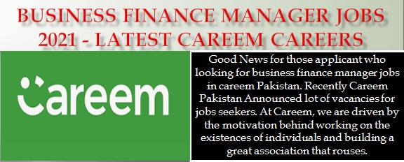 Business Finance Manager Jobs