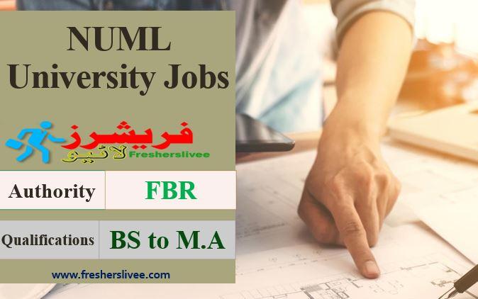 NUML University Jobs