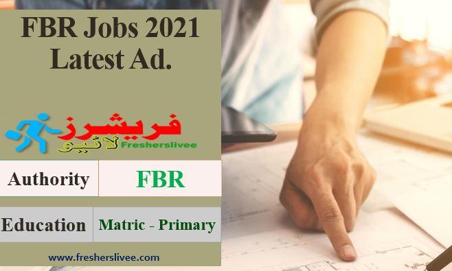 FBR New Jobs 2021