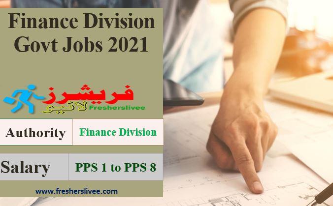 Finance Division Jobs
