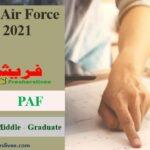 PAF Civilian Jobs 2021