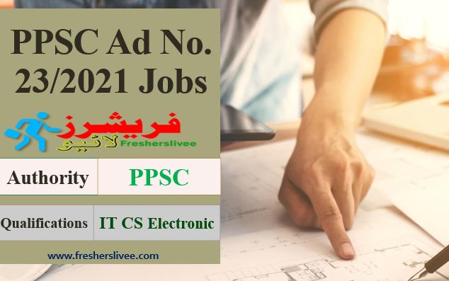 PPSC Latest Jobs 2021 Advertisement