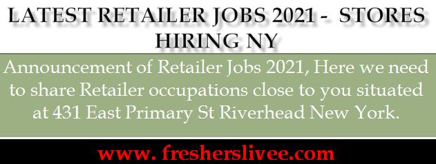Retailer Jobs