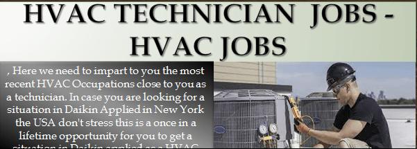 HVAC Technician Jobs