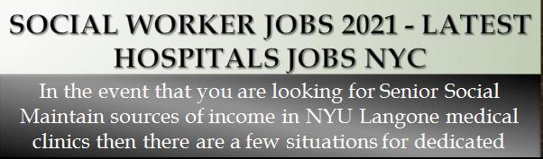 Social Worker Jobs