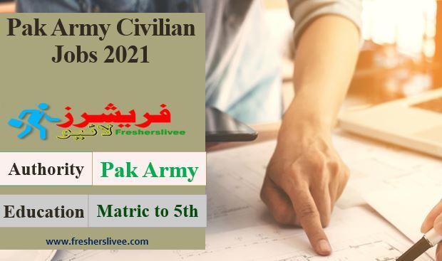 Pak Army Civilian Jobs